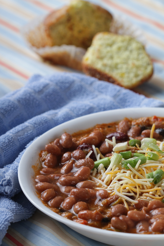Chili Beans and Cornbread | Sannechristian's Blog